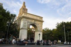 вашингтон york города новый квадратный стоковая фотография rf
