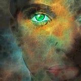 Ваши глаза Стоковые Фотографии RF