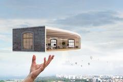 Ваш дизайн дома мечты Мультимедиа стоковое фото rf