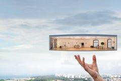 Ваш дизайн дома мечты Мультимедиа стоковое фото