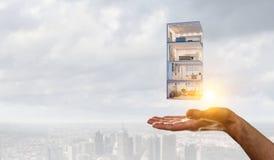 Ваш дизайн дома мечты Мультимедиа стоковые фотографии rf