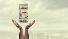 Ваш дизайн дома мечты Мультимедиа стоковые изображения rf
