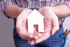Ваш мечт дом должен быть защищен Стоковые Фото