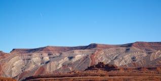 ваянные горы Стоковая Фотография RF