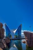 Валенсия - город искусств и наук Стоковое Изображение