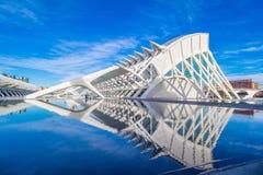 Валенсия - город искусств и наук Стоковые Изображения