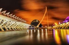 Валенсия, город науки и искусства, Испании Стоковые Изображения RF