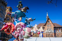 Валенсия, Испания, фестиваль Fallas Стоковое фото RF
