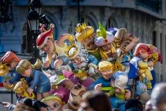 Валенсия, Испания, фестиваль Fallas Стоковые Фото