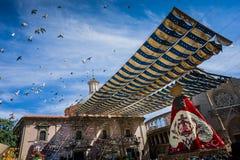 Валенсия, Испания, фестиваль Fallas Стоковые Изображения RF