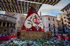 Валенсия, Испания, фестиваль Fallas Стоковые Изображения