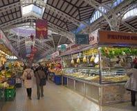 Валенсия, центральный рынок Стоковая Фотография