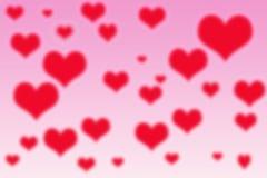 Валентайн влюбленности s иллюстрации сердец дня Стоковое фото RF