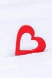 Валентайн дня счастливое s белизна вектора иллюстрации сердца предпосылки красная Стоковые Фото