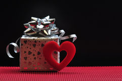 Валентайн подарка s дня Стоковая Фотография