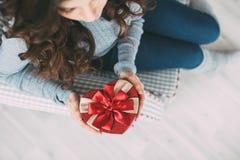 Валентайн подарка s дня Стоковое Фото