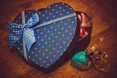 Валентайн подарков s дня Стоковое Изображение