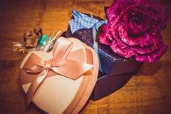 Валентайн подарков s дня Стоковое фото RF