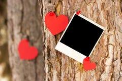 Валентайн сердец красное s золота дня предпосылки Стоковое фото RF