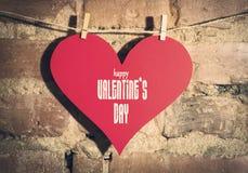 Валентайн сердец s дня карточки Стоковая Фотография