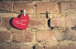 Валентайн сердец s дня карточки Стоковые Изображения