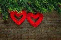 Валентайн сердец s дня предпосылки Стоковые Фото