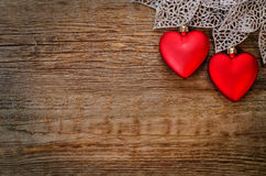 Валентайн сердец s дня предпосылки Стоковое Фото