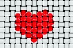 Валентайн символа сердца s дня Стоковая Фотография RF