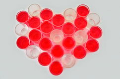 Валентайн символа сердца s дня Стоковые Фото