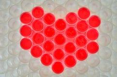 Валентайн символа сердца s дня Стоковое фото RF