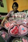 Валентинка шоколада Стоковое Изображение
