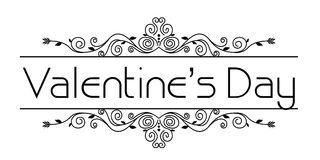 Валентинки обрамляют флористическое Стоковое Изображение