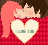 Валентинки поцелуя Стоковые Фотографии RF