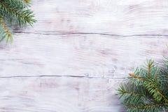 вал ели рождества предпосылки Стоковая Фотография RF