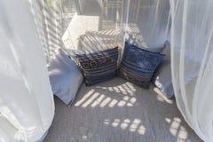 Валики подушки на софе Стоковое Изображение
