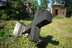 Валить тягчайший крест Стоковые Изображения