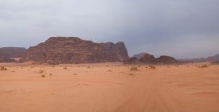 вади рома Иордана пустыни Стоковая Фотография RF