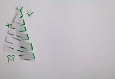 вал красного цвета бумаги иллюстрации рождества предпосылки Стоковые Изображения RF