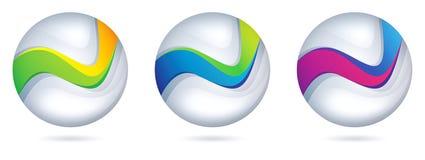 вал логоса зеленого цвета компании бонзаев ваш Стоковые Изображения RF