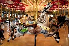 вал орнамента лошади рождества carousel Стоковое фото RF