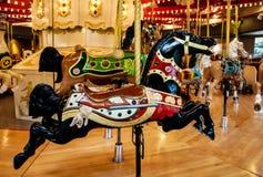 вал орнамента лошади рождества carousel Стоковая Фотография RF