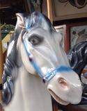 вал орнамента лошади рождества carousel Стоковые Фотографии RF