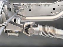 Вал привода грузового пикапа Стоковое фото RF