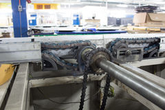 Вал привода транспортеров Стоковое Изображение RF