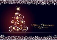 вал рождества золотистый Стоковые Фотографии RF