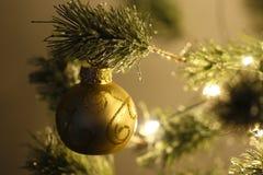 вал снежка орнамента рождества тросточки конфеты Стоковые Изображения