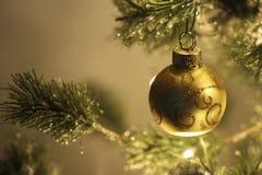 вал снежка орнамента рождества тросточки конфеты Стоковые Изображения RF