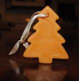вал снежка орнамента рождества тросточки конфеты Стоковое Фото