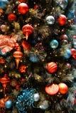 вал украшений рождества золотистый predominately Стоковые Фотографии RF