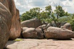 Валуны гранита слона Парки штата слона Стоковая Фотография RF